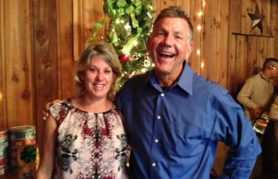 Phil and Pat enjoying the festivities!