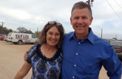Phil and Pam happy to serve Central Texas during the holiday season!