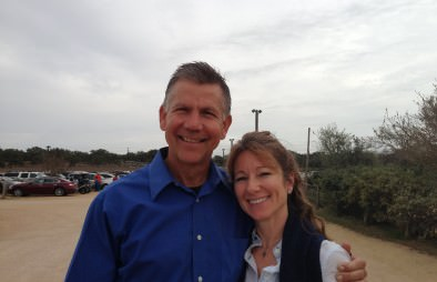 """Phil and Donna proud to conclude another successful year at Organics """"By Gosh""""."""