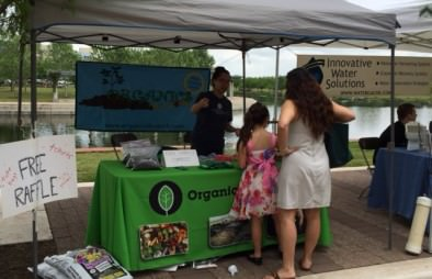 Educating the community on the power of compost!