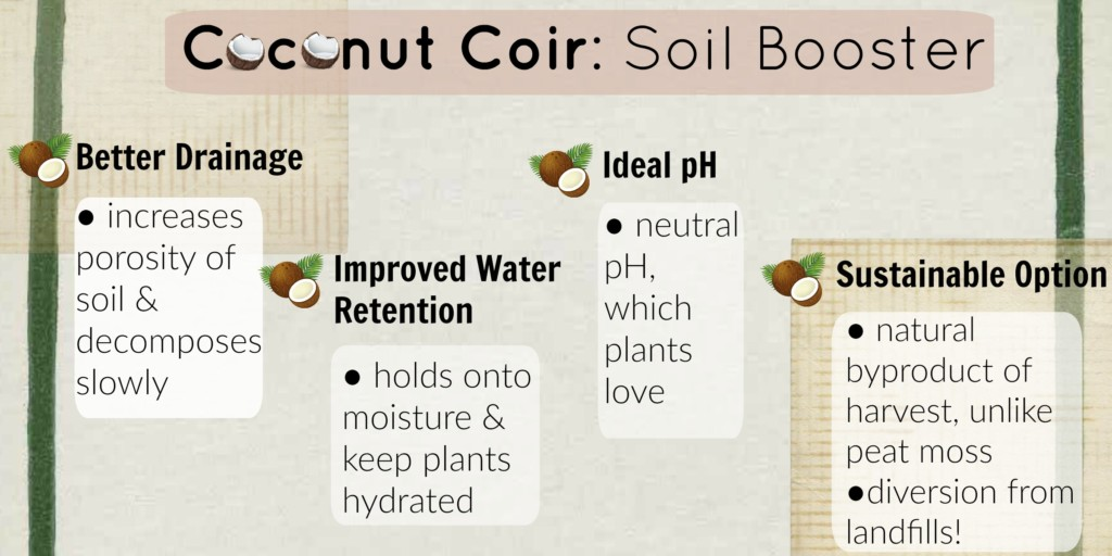 Benefits of Coconut Coir