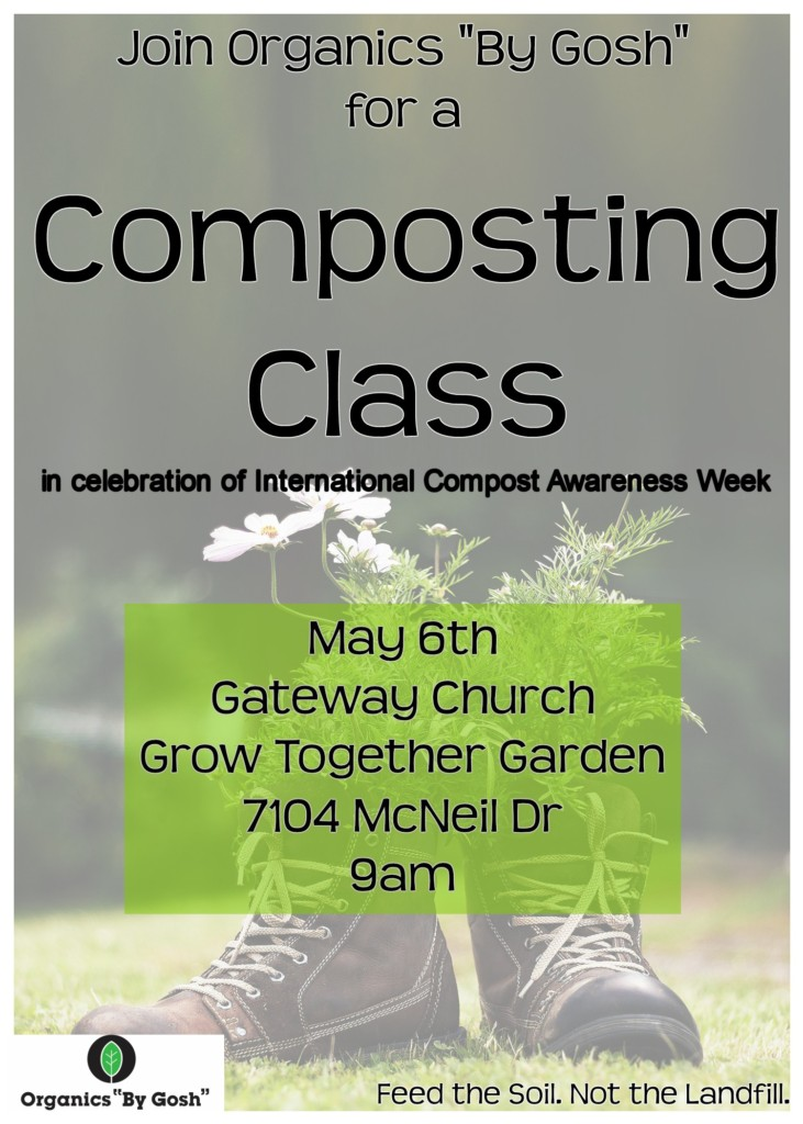 International Compost Awareness Week Composting Class