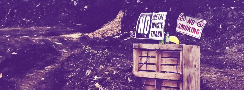 No Waste Sign